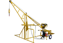 1000 Hydraulic Swing Hoist