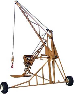 Ladder Hoist Attachment - Transport Axles