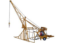 2000 Hydraulic Swing Hoist