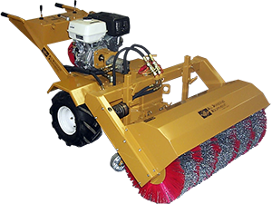 Hydraulic Tractor - Sweeper Attachment