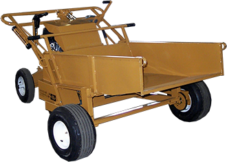 Power Buggy, Hydraulic - Attachment - Bucket Standard