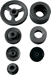 Roofing Accessories - Pulleys, Bushings and Idlers